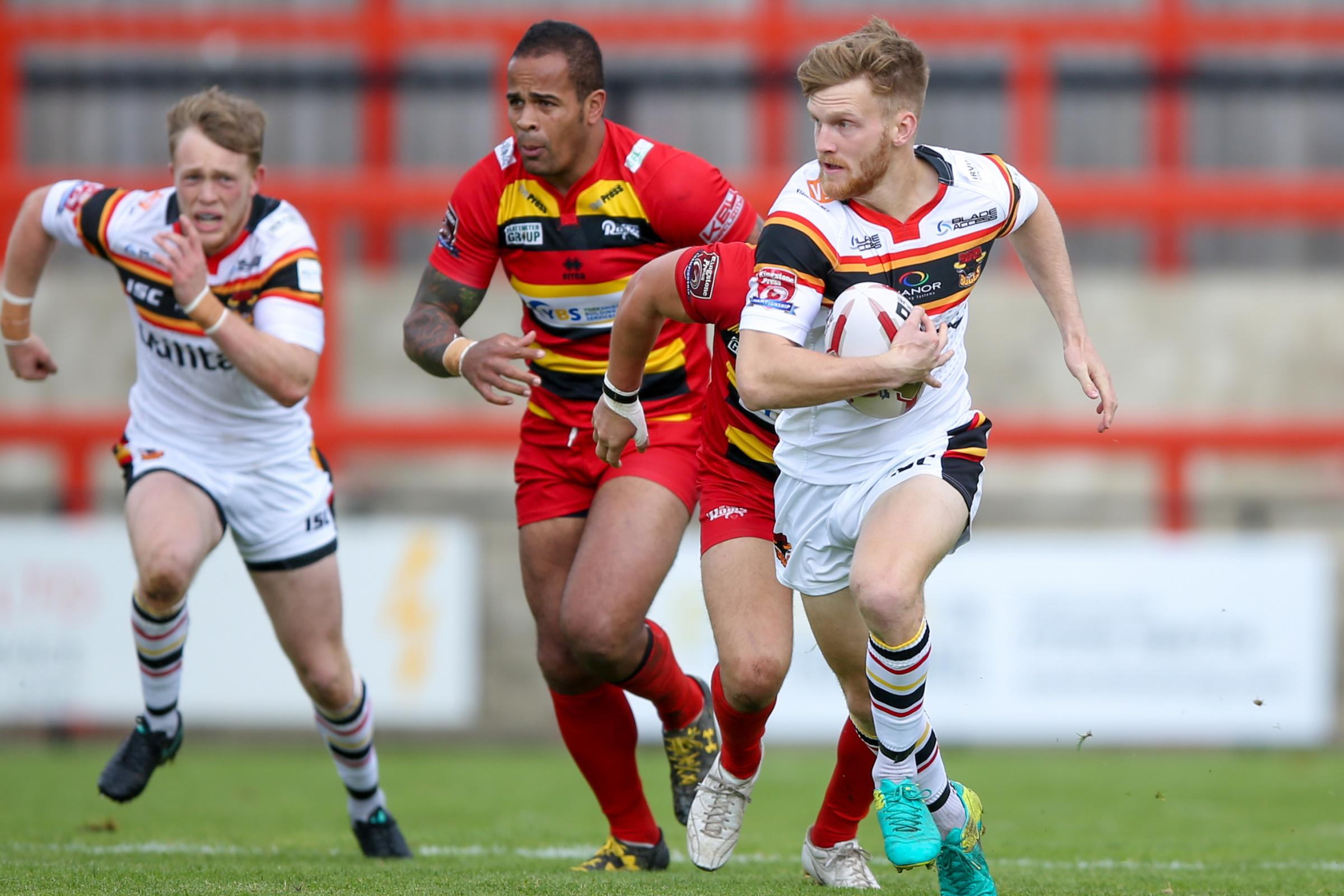 Joe Keyes has been a stand-out performer for the Bulls during a difficult season for the club – Picture: Simon Davies