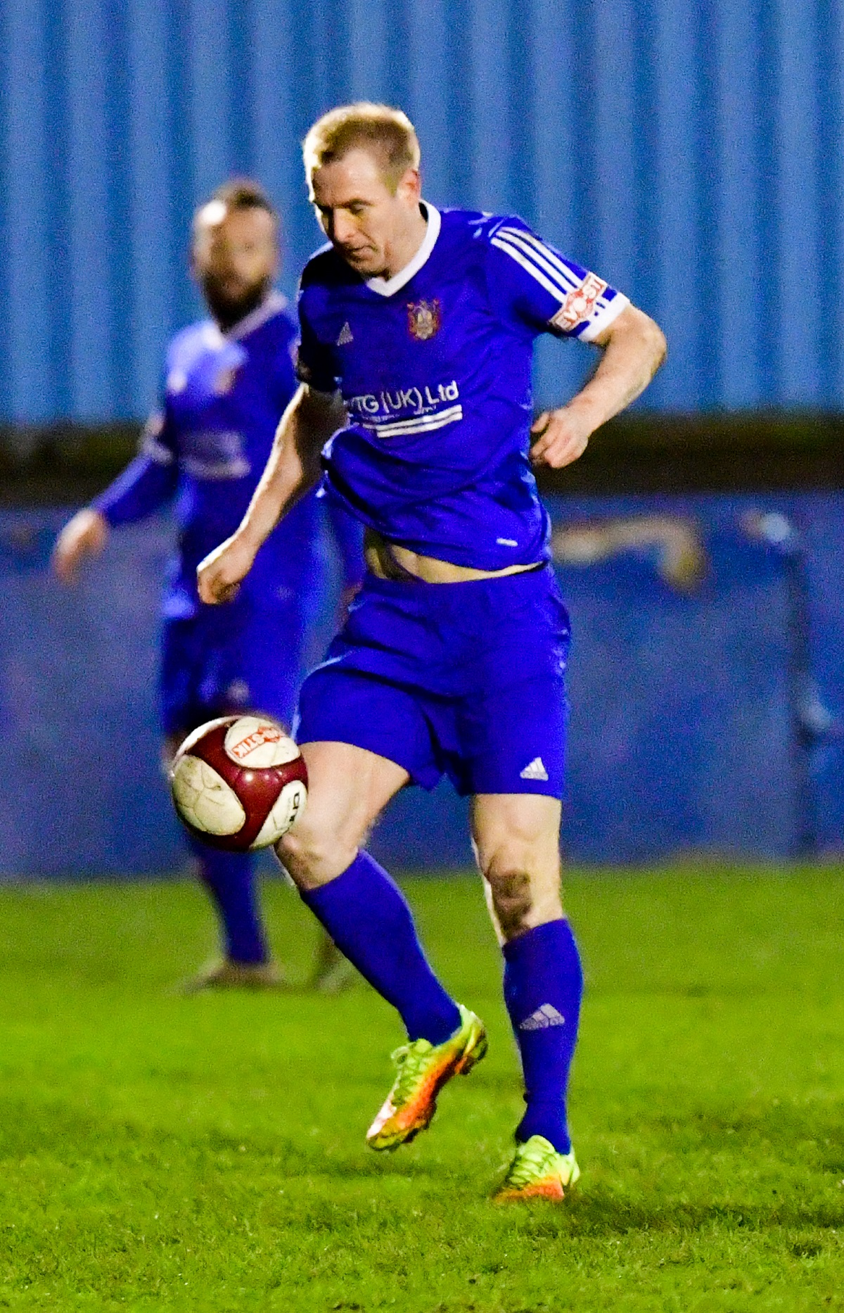 James Walshaw missed a penalty but still ended up scoring a hat-trick for Farsley Celtic last Saturday