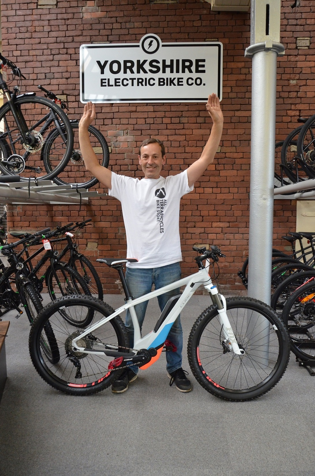 Tony Booth, of the Yorkshire Electric Bike Company