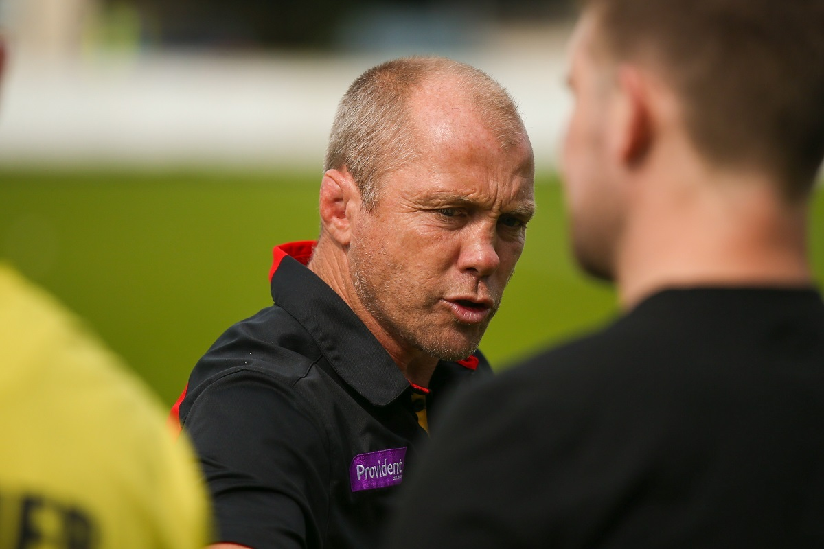 DEADLINE TIME: Geoff Toovey's position will soon be made clear – Picture: Simon Davies