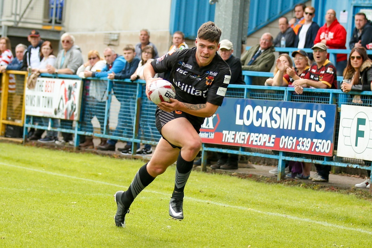 HIGH HOPES: Josh Rickett is confident Bulls can storm straight back from League One. Pic: Simon Davies