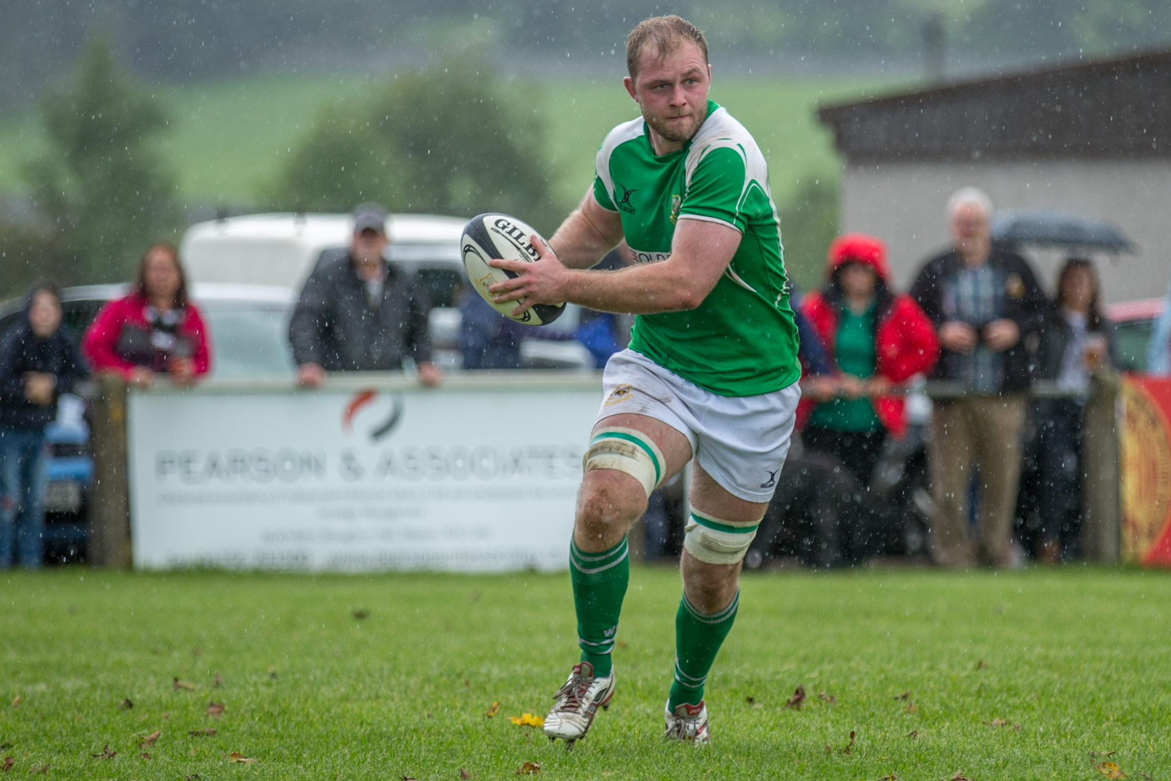 Wharfedale are giving Josh Burridge another week to rest his hamstring