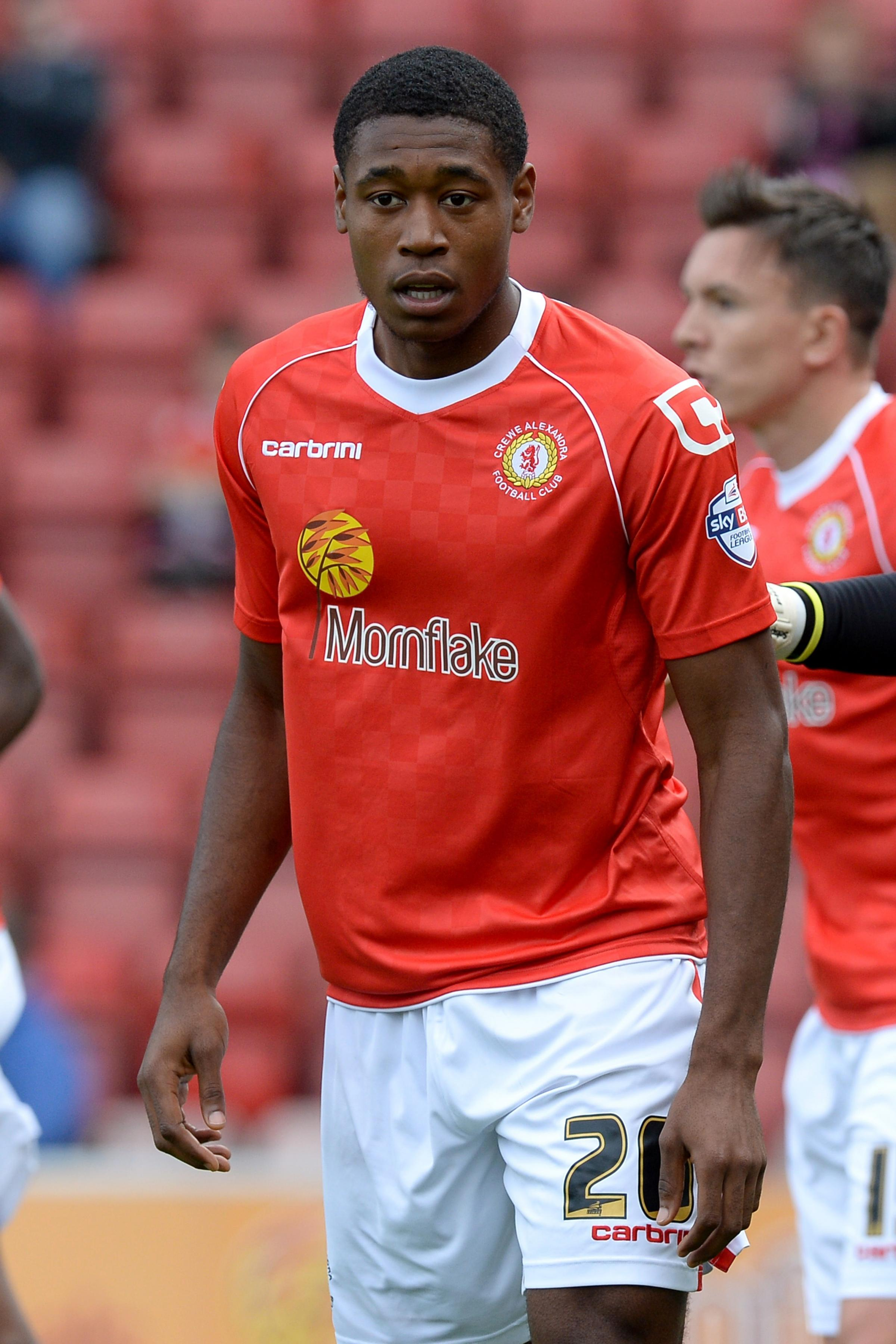 COMEBACK: Striker Chuks Aneke is available after a long-term absence