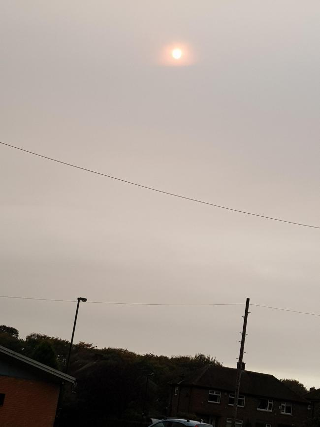 OMG The Sun in Woodside  Bradford