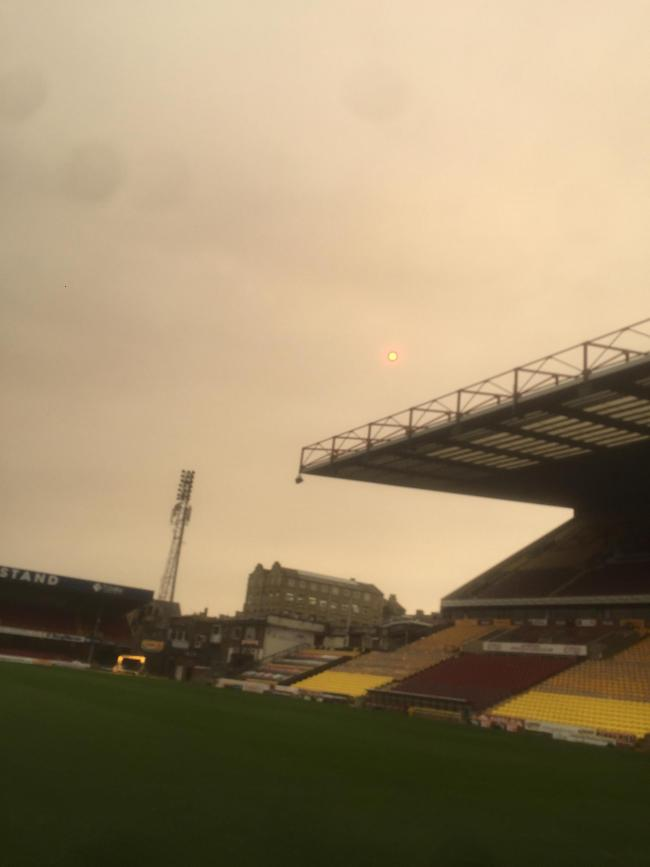 Red sun over bcfc