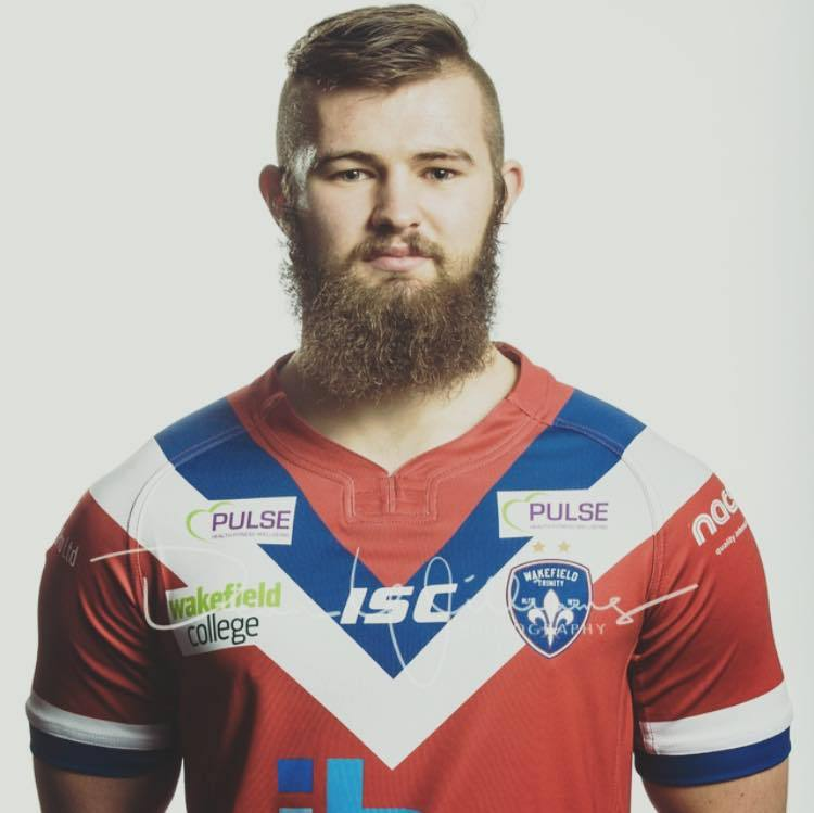 New Cougars prop Harvey Hallas, who has joined from Wakefield
