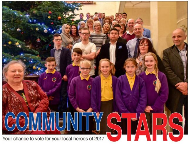Winners of the 2016 Community Stars awards