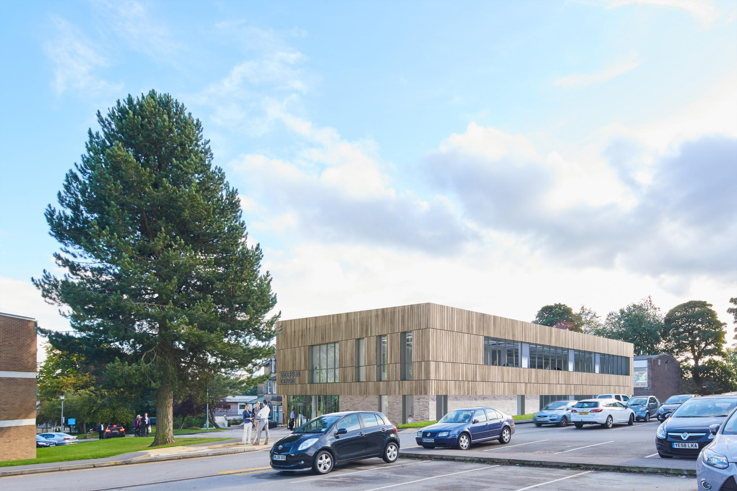 An artist's impression of The Wolfson Centre. Picture: Infinite 3D