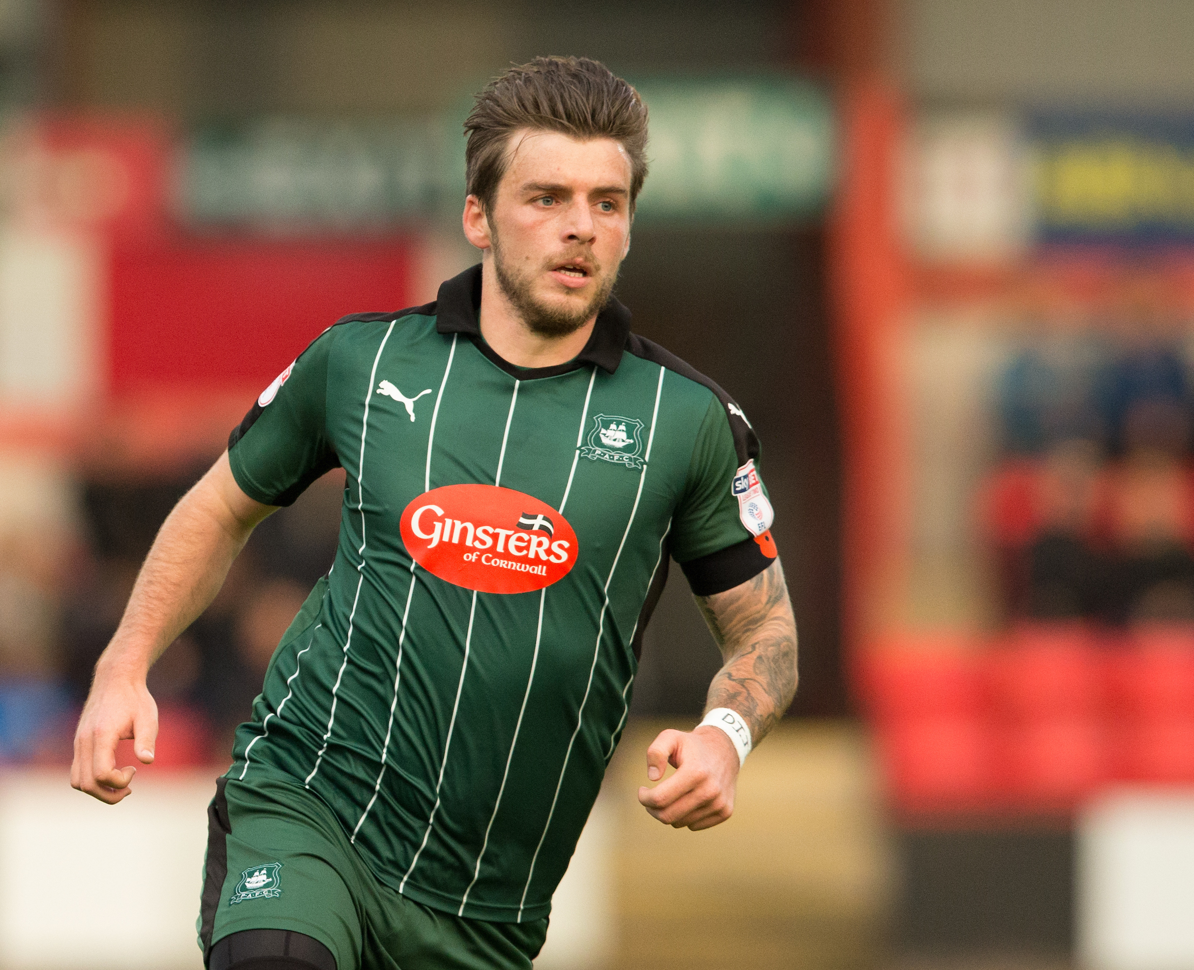 OUT OF ACTION: Suspended Plymouth playmaker Graham Carey