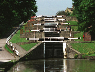 Bingley@s Five Rise Locks