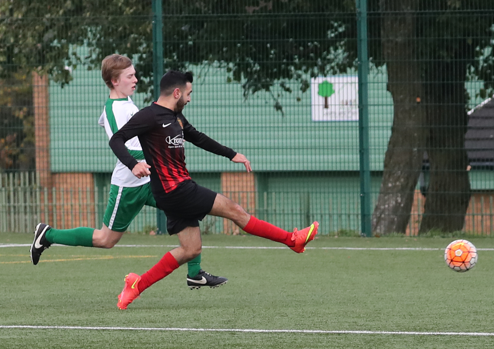 TVR United add a second goal on their way to a 3-2 win against Unita – Picture: Alex Daniel