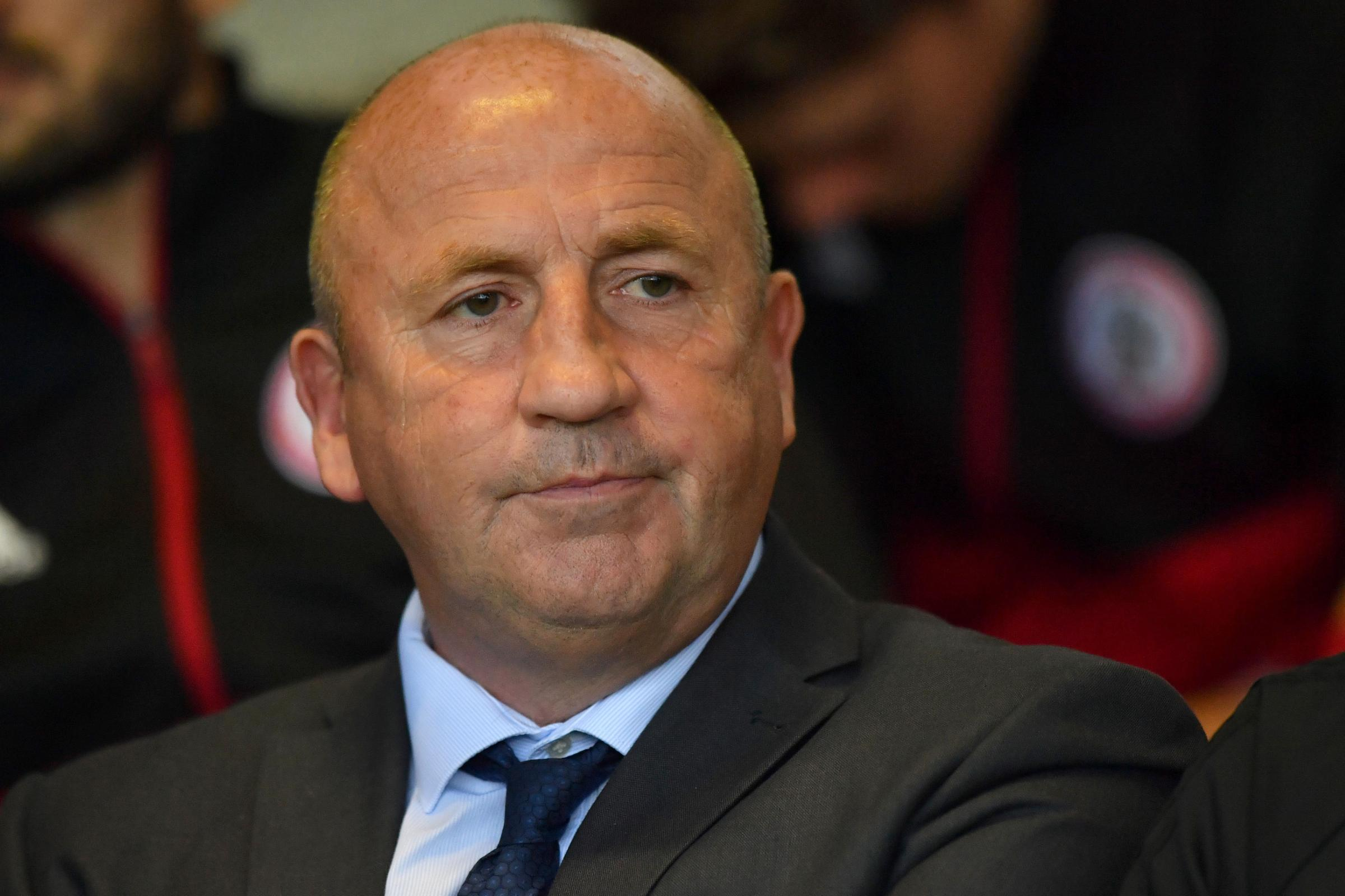 Accrington Stanley manager John Coleman is looking to avoid an FA Cup upset in their replay against Guiseley – Picture: Anthony Devlin/PA Wire