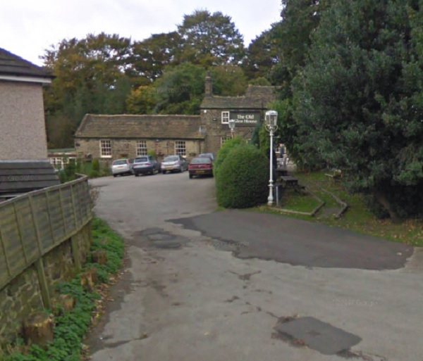 Fire crews from Shipley were called to the incident at The Old Glen House pub on Prod Lane, Baildon