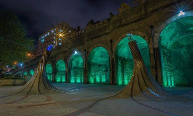 Bradford Telegraph and Argus: T&A camera club member Gary Allan's picture of the Forster Square arches