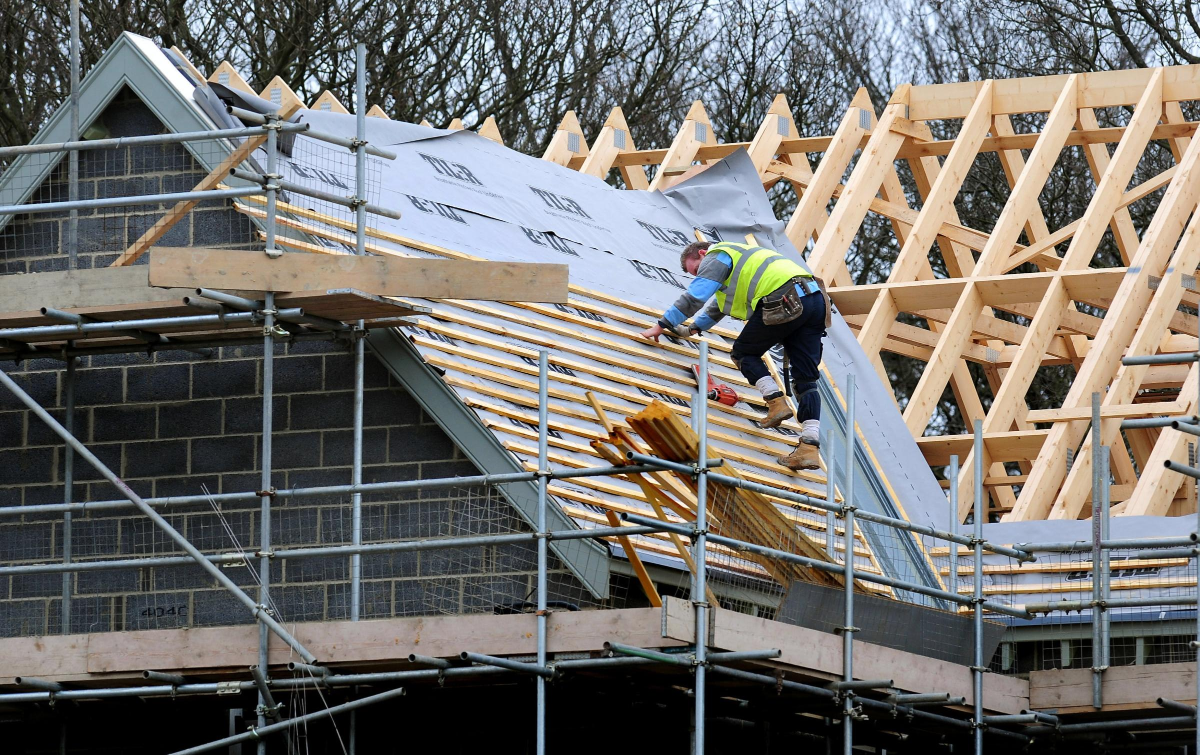 HOMES: The Government has reduced its house-building target