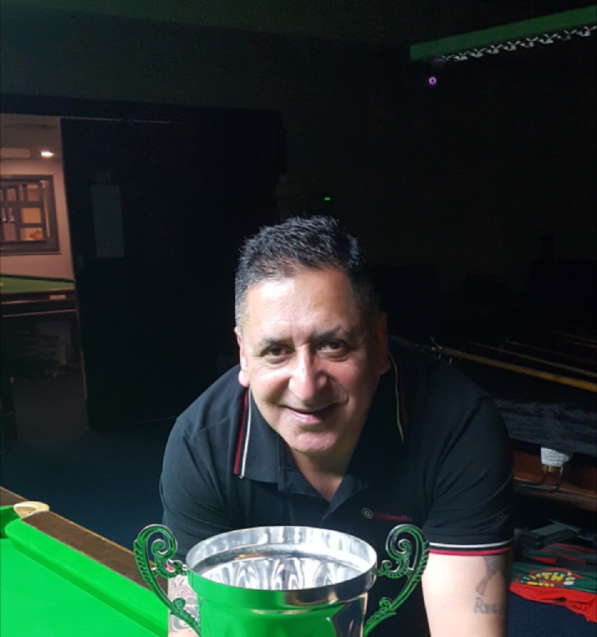 Sonny Sandhu (Undercliffe Cricket Club), who won the Bradford Snooker Handicap title, defeating Craig Davies (Tong Liberal) 3-1 in the final at Eccleshill Victoria Conservative Club