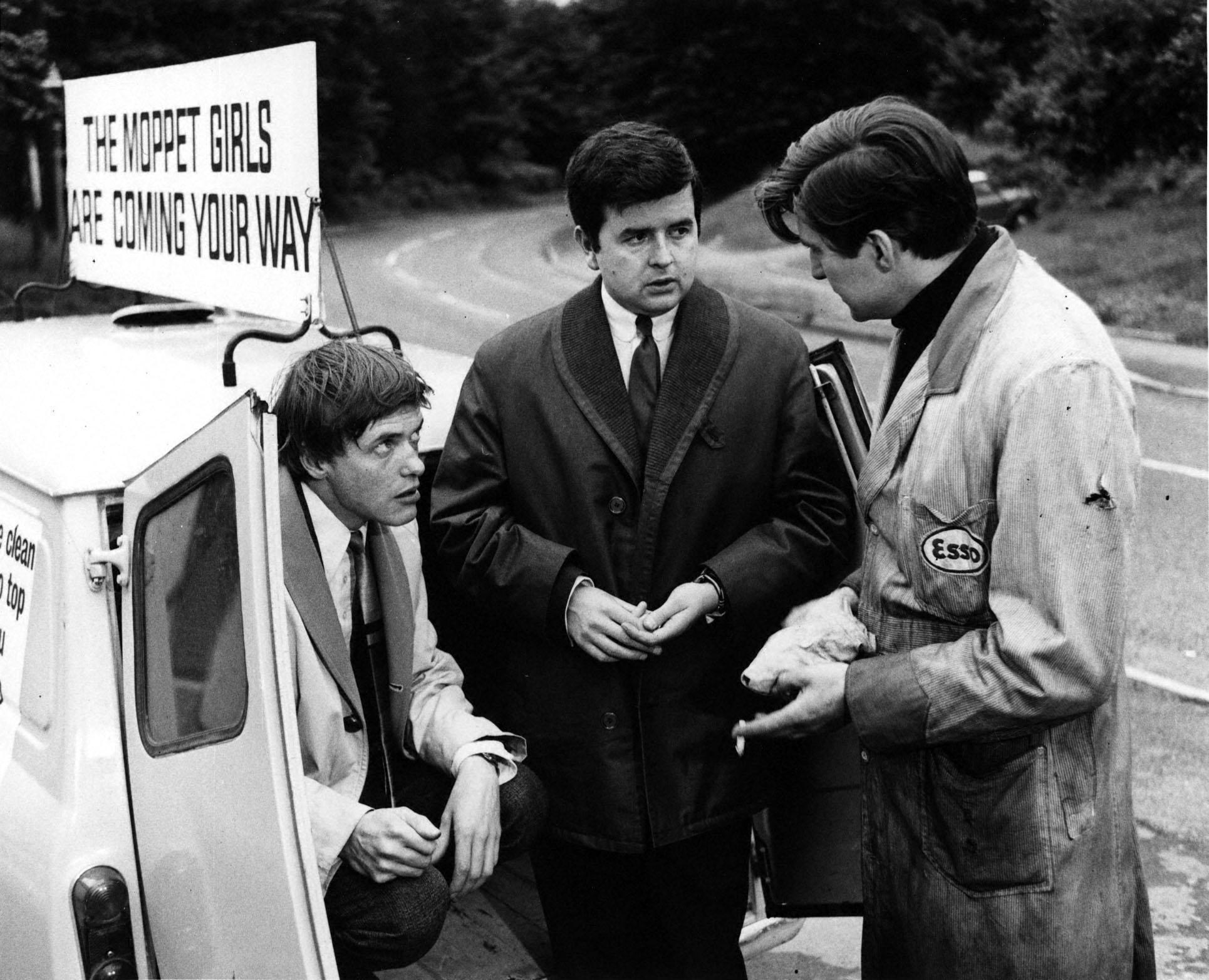 James Bolam and Rodney Bewes in The Likely Lads. Photo: BBC/PA Wire