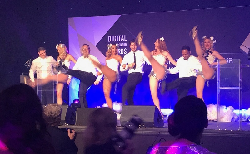 Some of the entertainment at the awards show. Picture c/o University of Bradford.