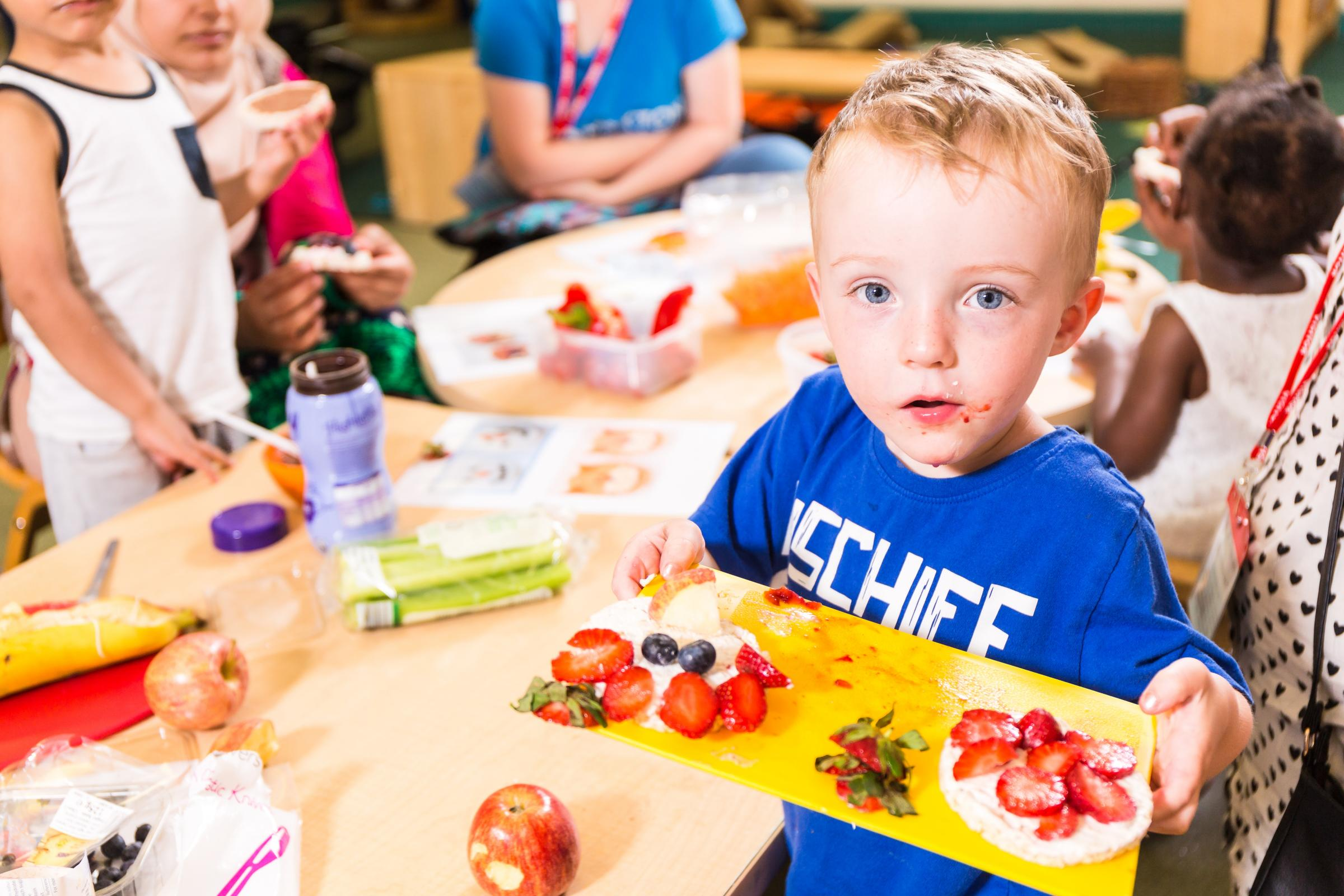 The Dishy Dads scheme, which helps fathers prepare nutritious meals with their children, is being supported with funding by Better Start Bradford