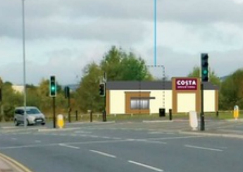 Plans For New Drive Thru Costa Store Have Been Submitted To