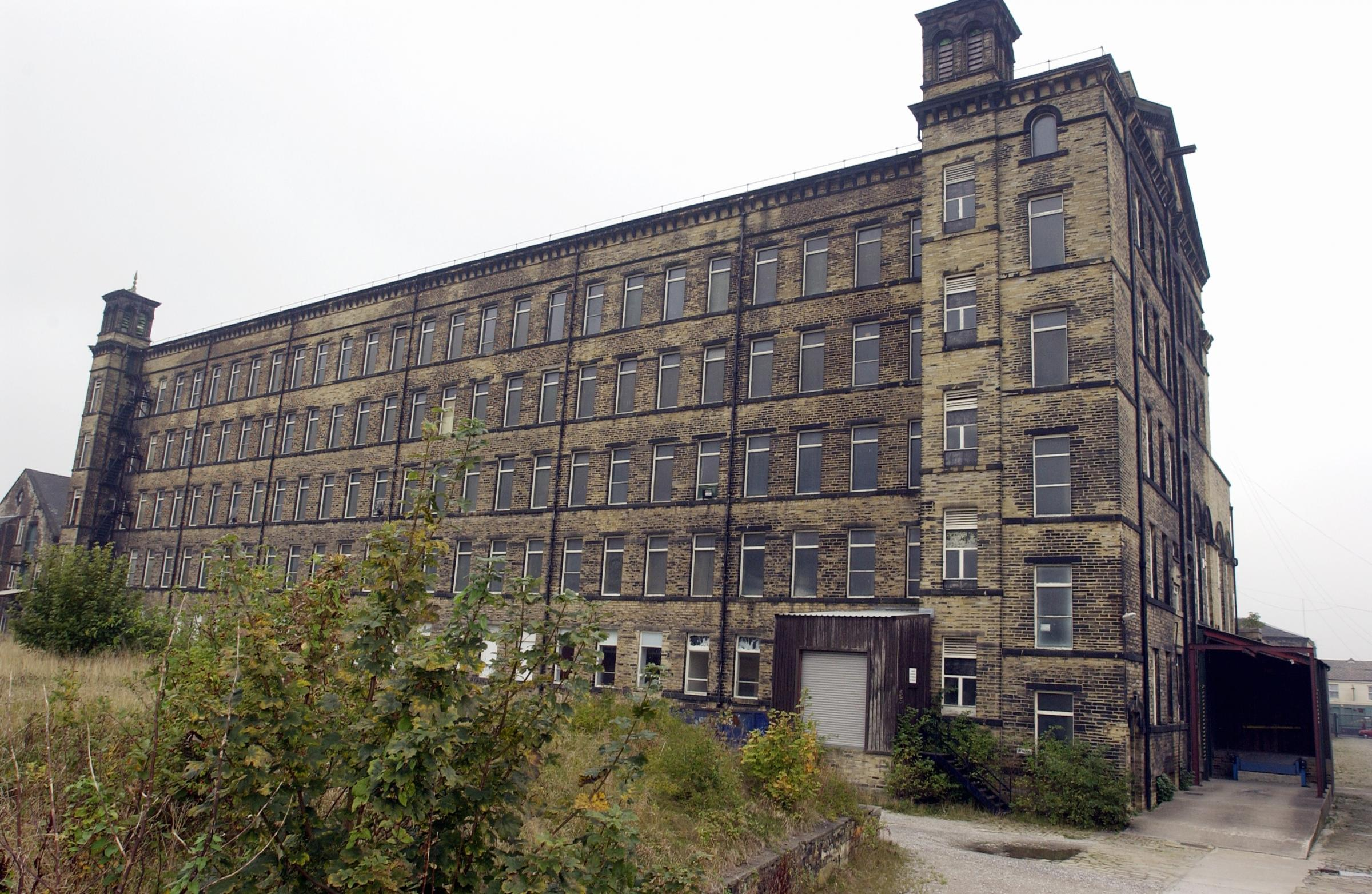 Drummond Mill, which stood on Lumb Lane.