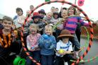 Youngsters enjoy some of the activities on offer
