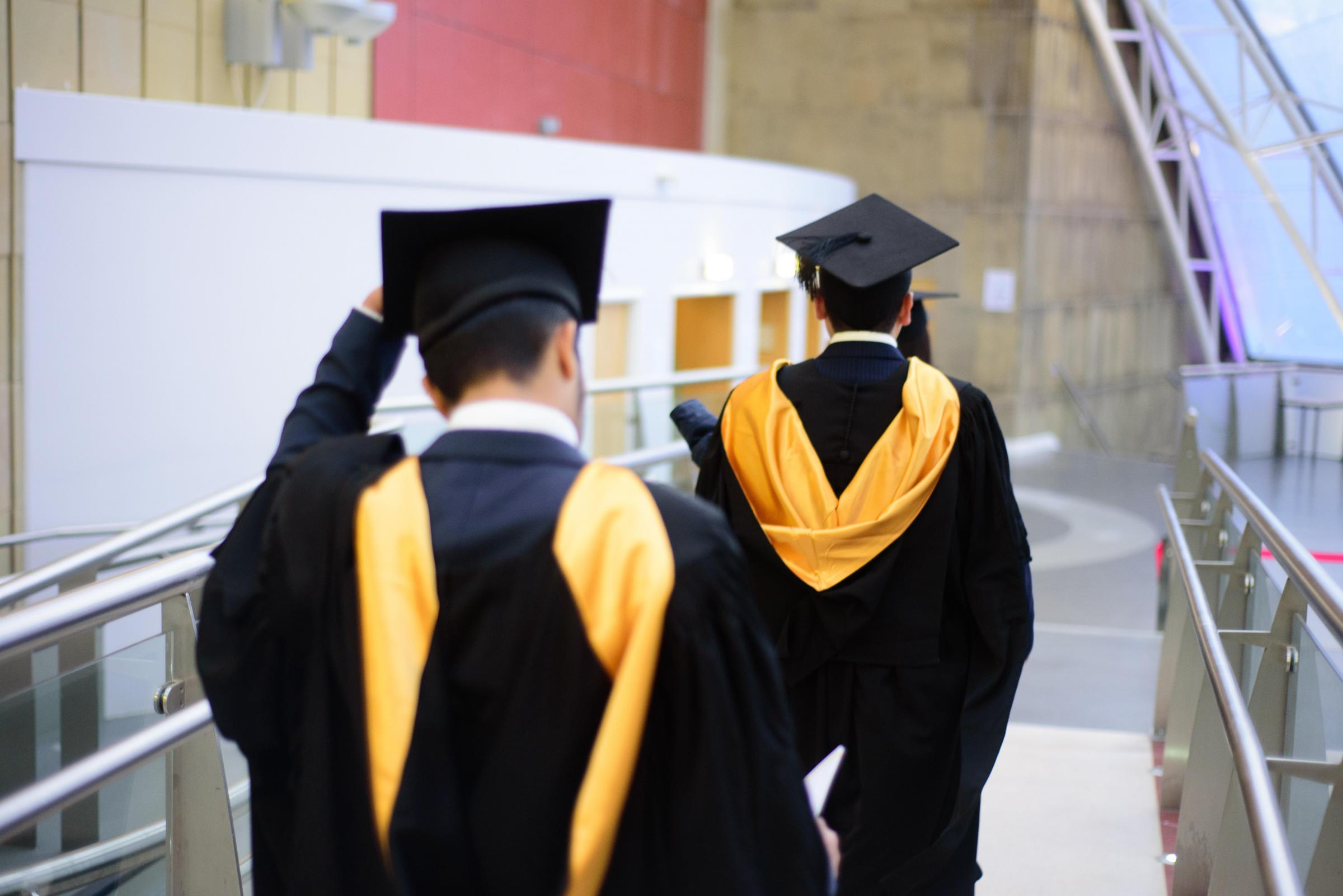 Graduates at the University of Bradford
