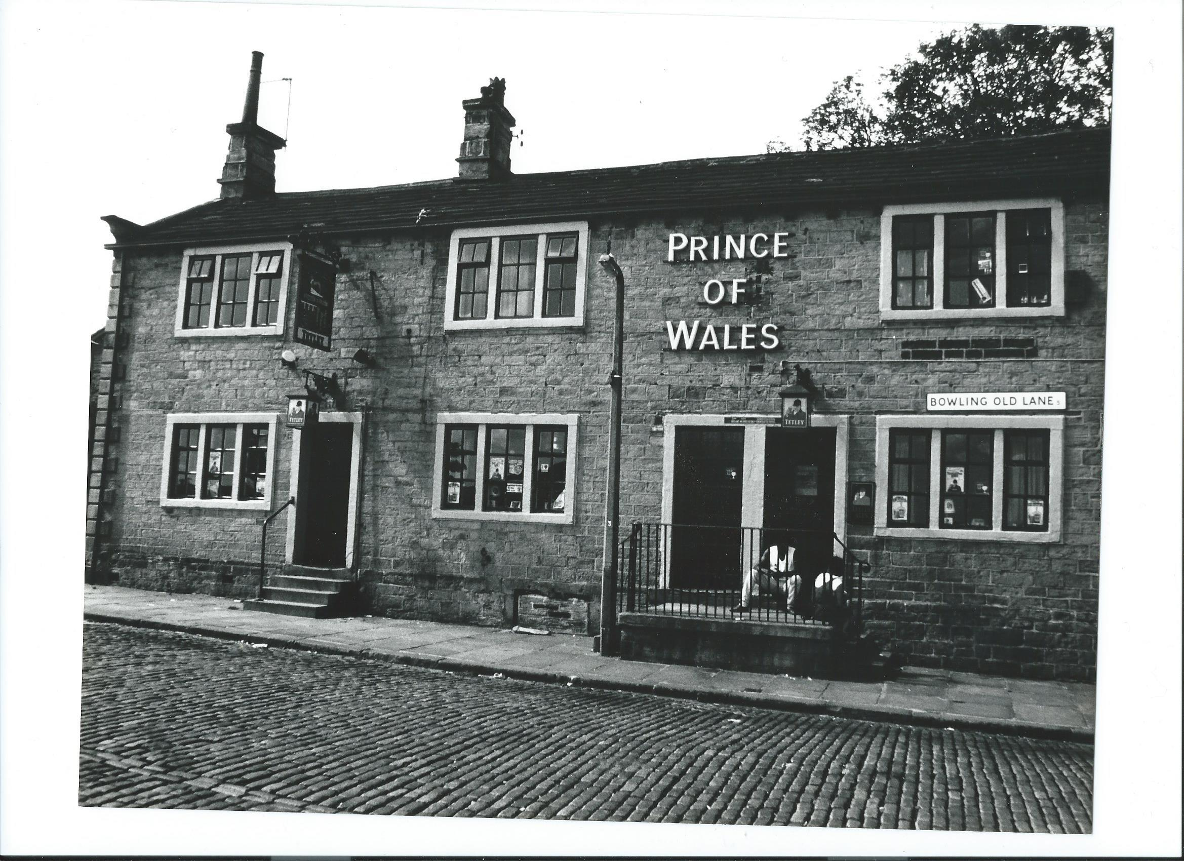 The Prince of Wales pub, taken in the 1980s