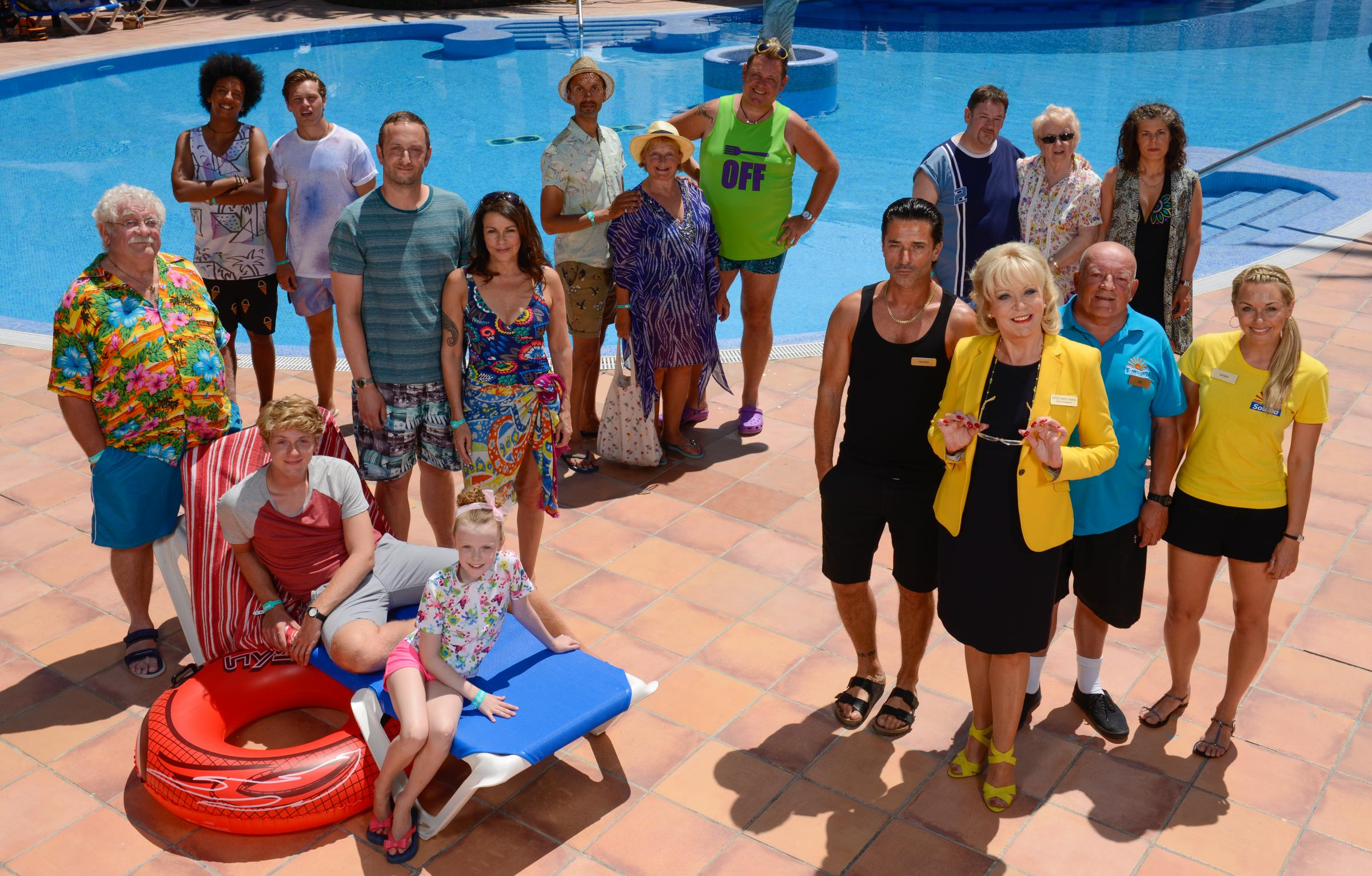 Benidorm Live is heading for Bradford. Picture: Tiger Aspect/Duncan Ireland
