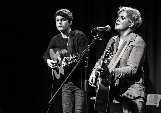 Luke Jackson and Amy Wadge are appearing at the Live Room in Saltaire. Mike ainscoe