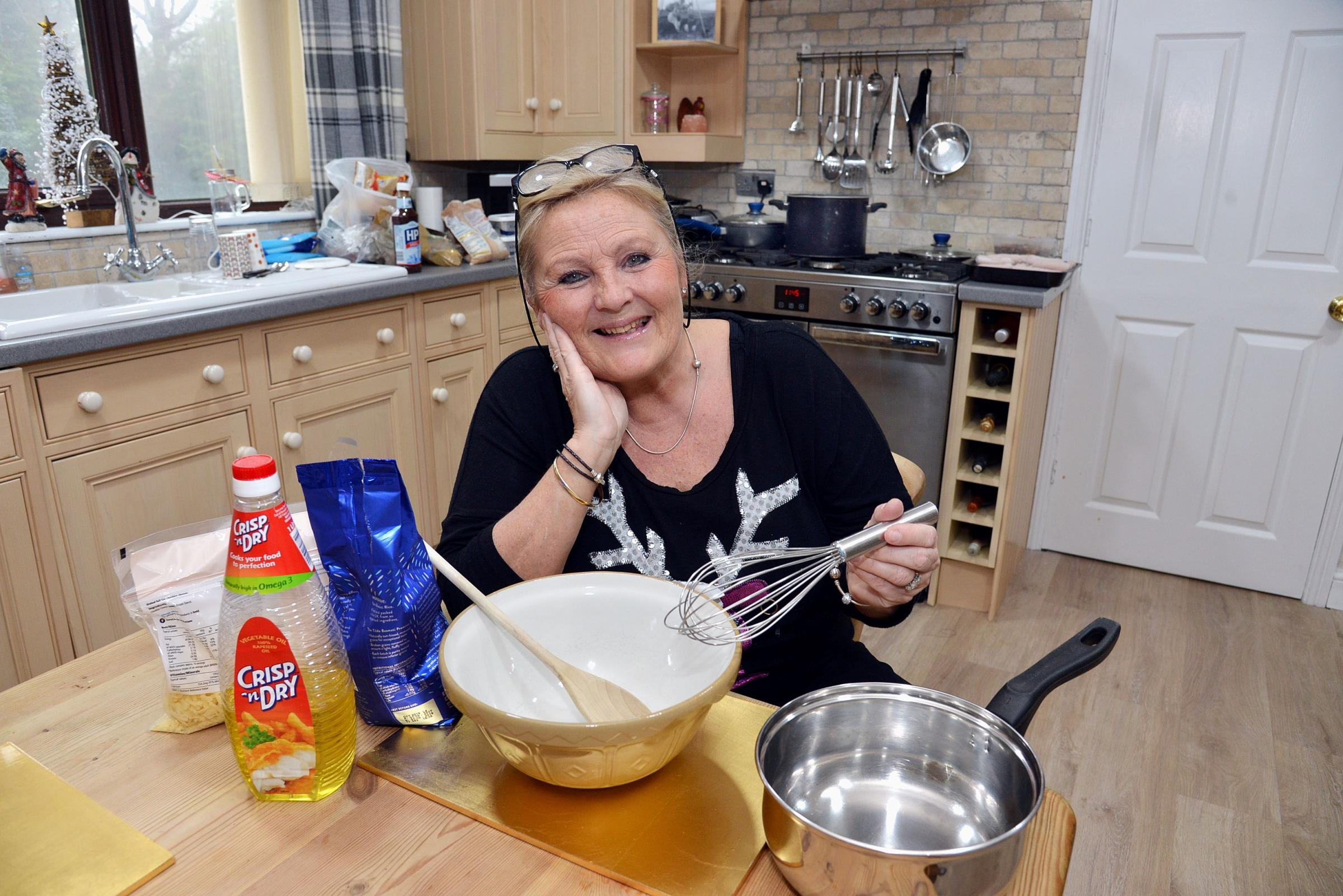 Lynn Parker is putting on Christmas dinner for people on their own