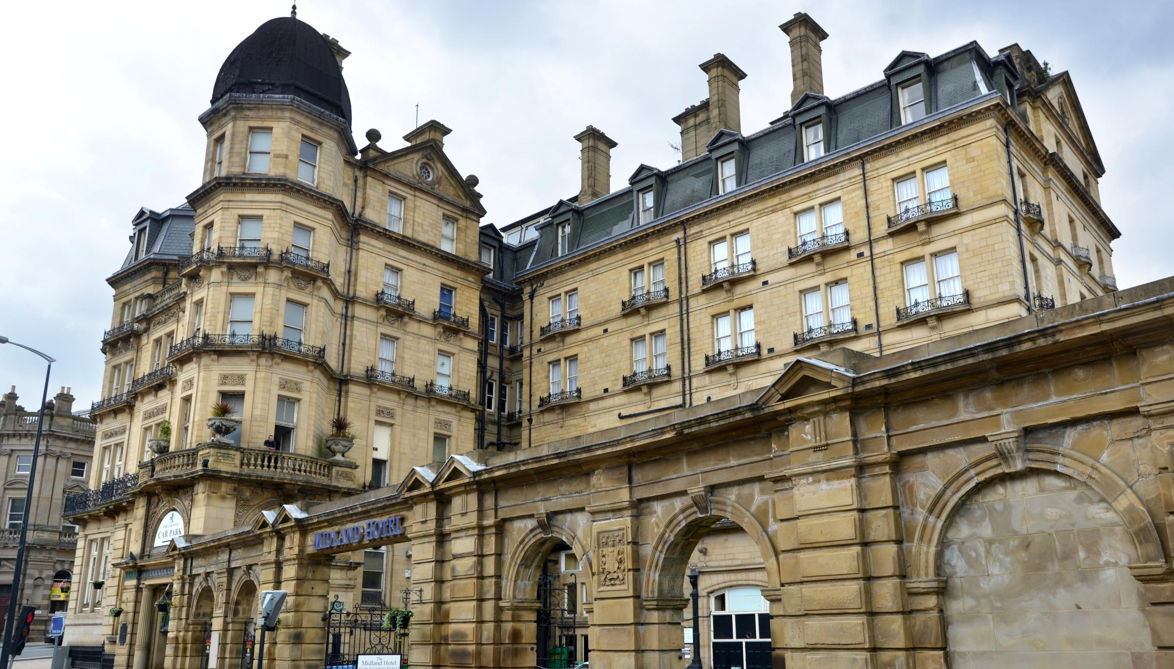 Feature on the Historic Midland hotel in Bradford..