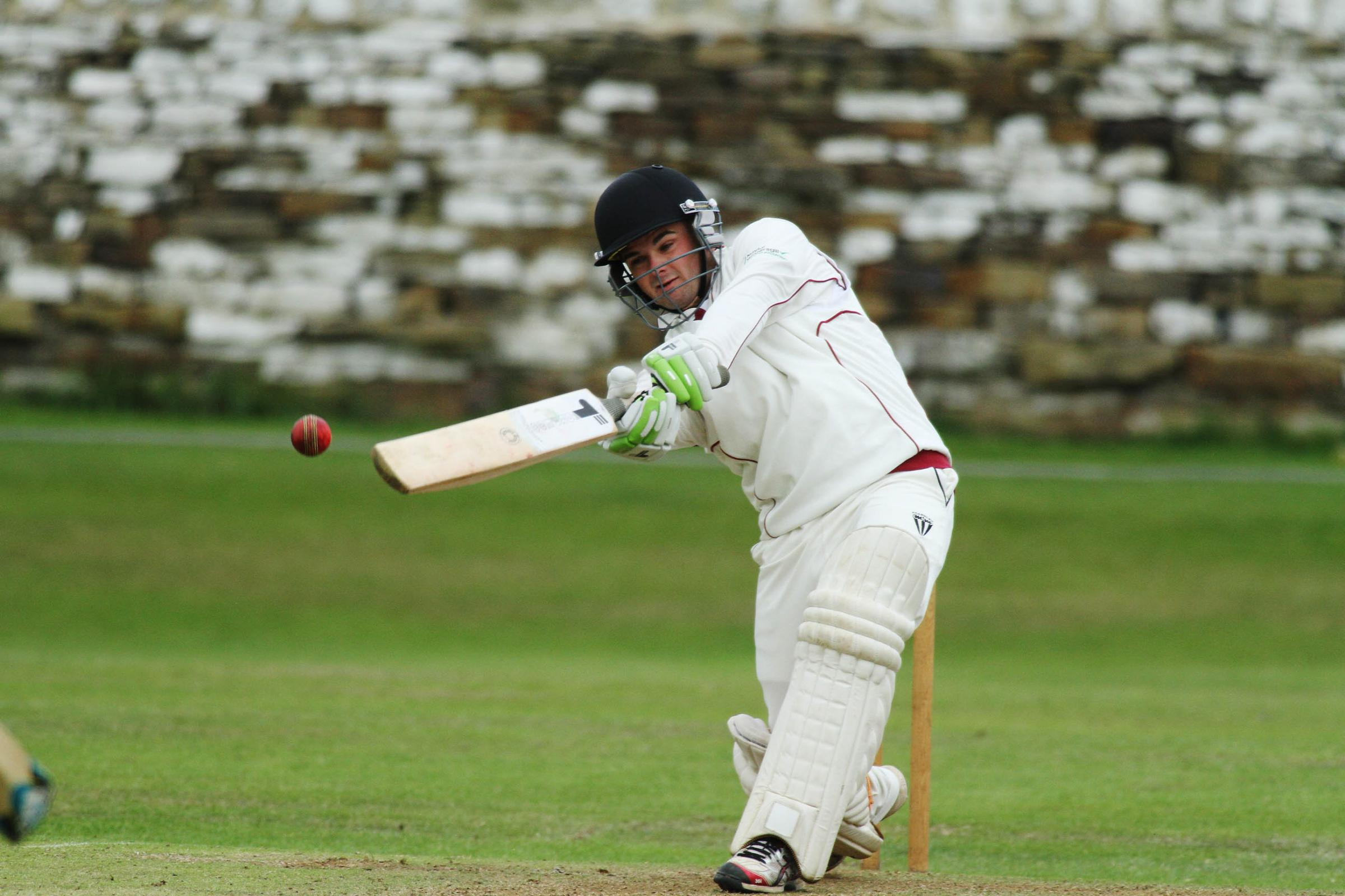 Ben Burkill of Cullingworth won two batting prizes at the Spenser Wilson League's annual prize presentation