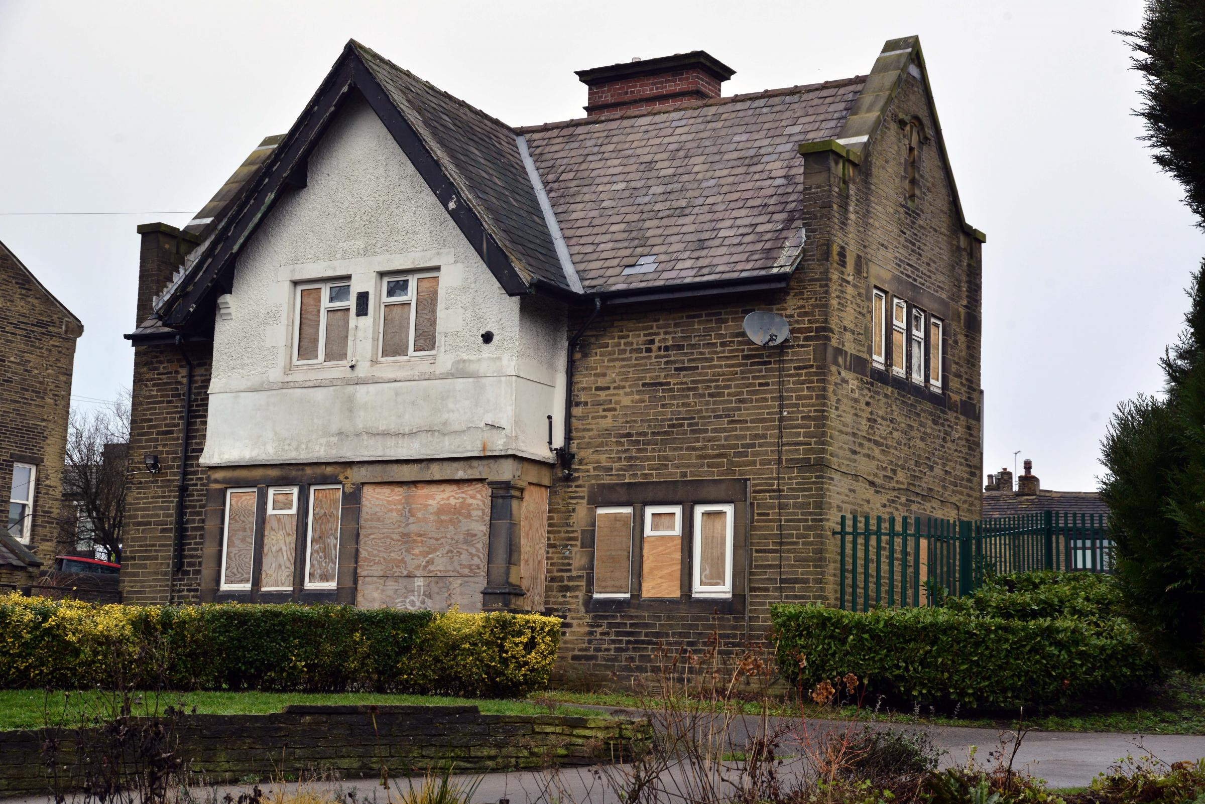 The former Park Keepers cottage in Wibsey Park.