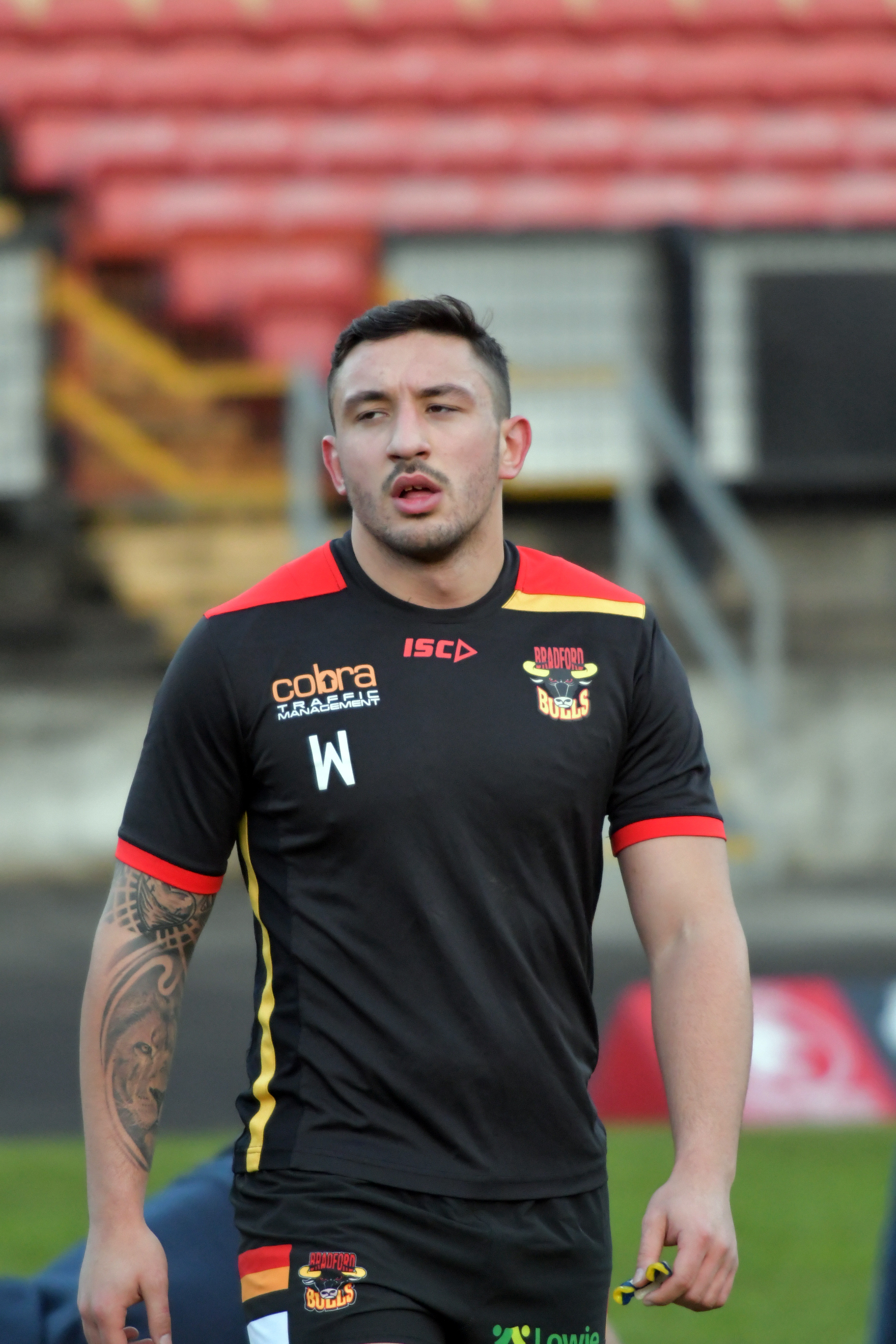Elliot Minchella has been pleasantly surprised by the attitude and performance of the younger Bulls players – Picture: Richard Leach