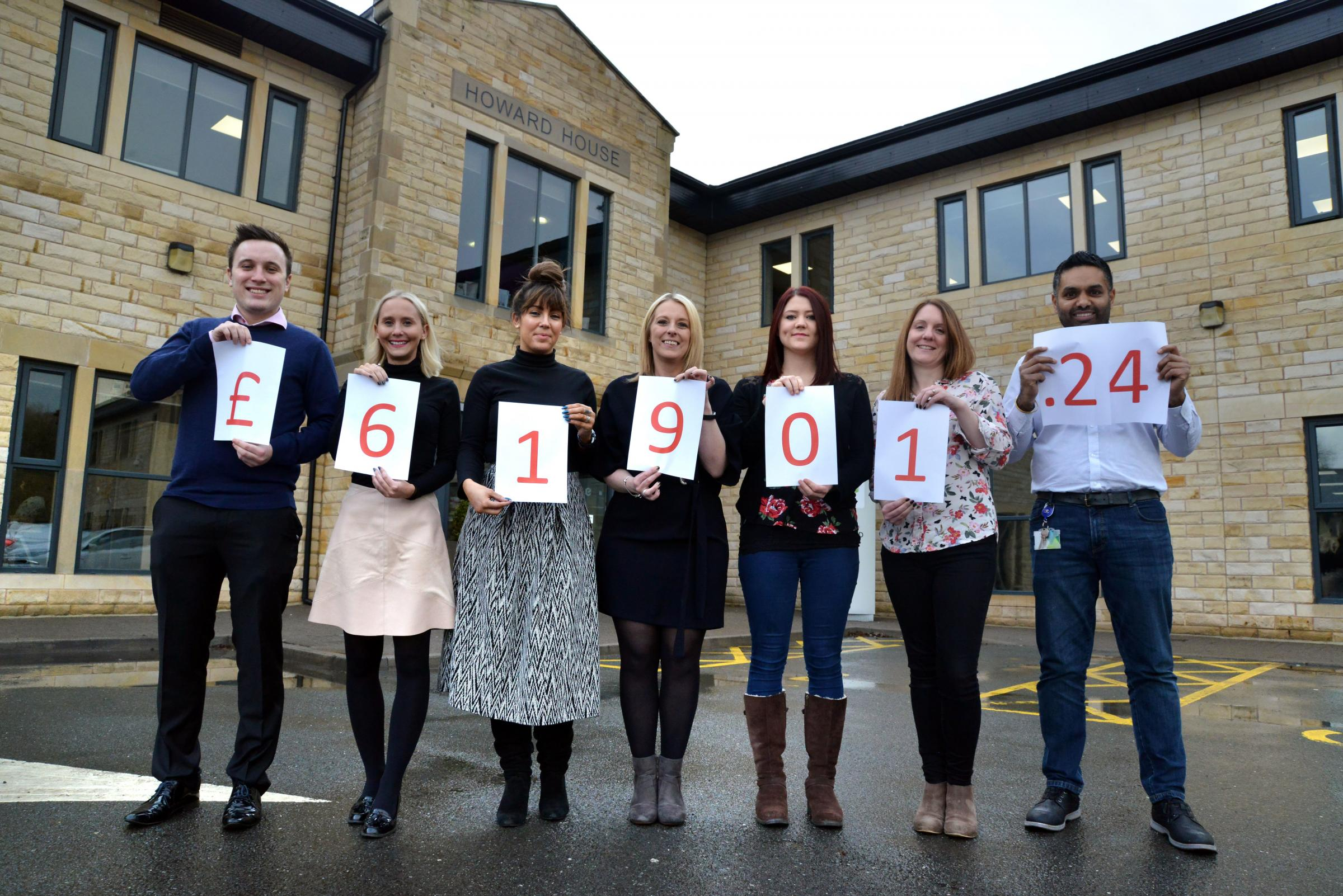 Bingley based Emerald Publishing Group marked its 50th anniversary by raising more than £60,000 for a heart charity over the year....