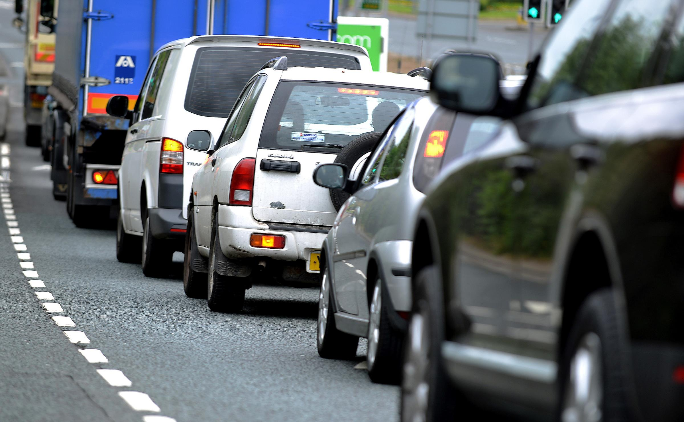 Delays on M62 after accident at Chain Bar