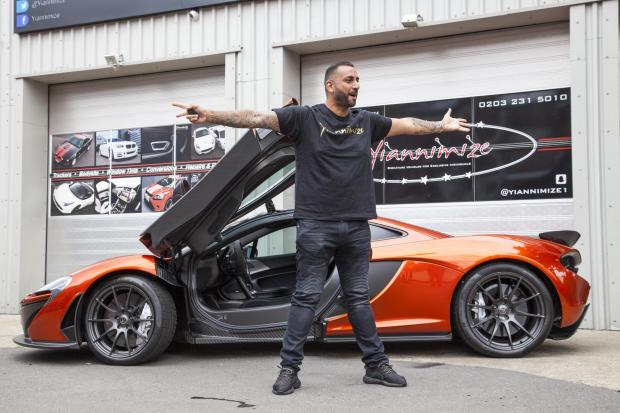 Bradford Telegraph and Argus: Yianni: Supercar CustomiserPicture Shows: Yianni CharalambousLocation: Yiannimize Garage