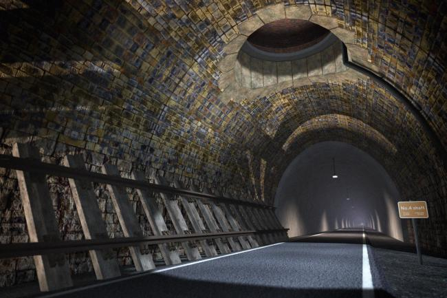 VISION: How a transformed Queensbury Tunnel could look. Picture: Four By Three