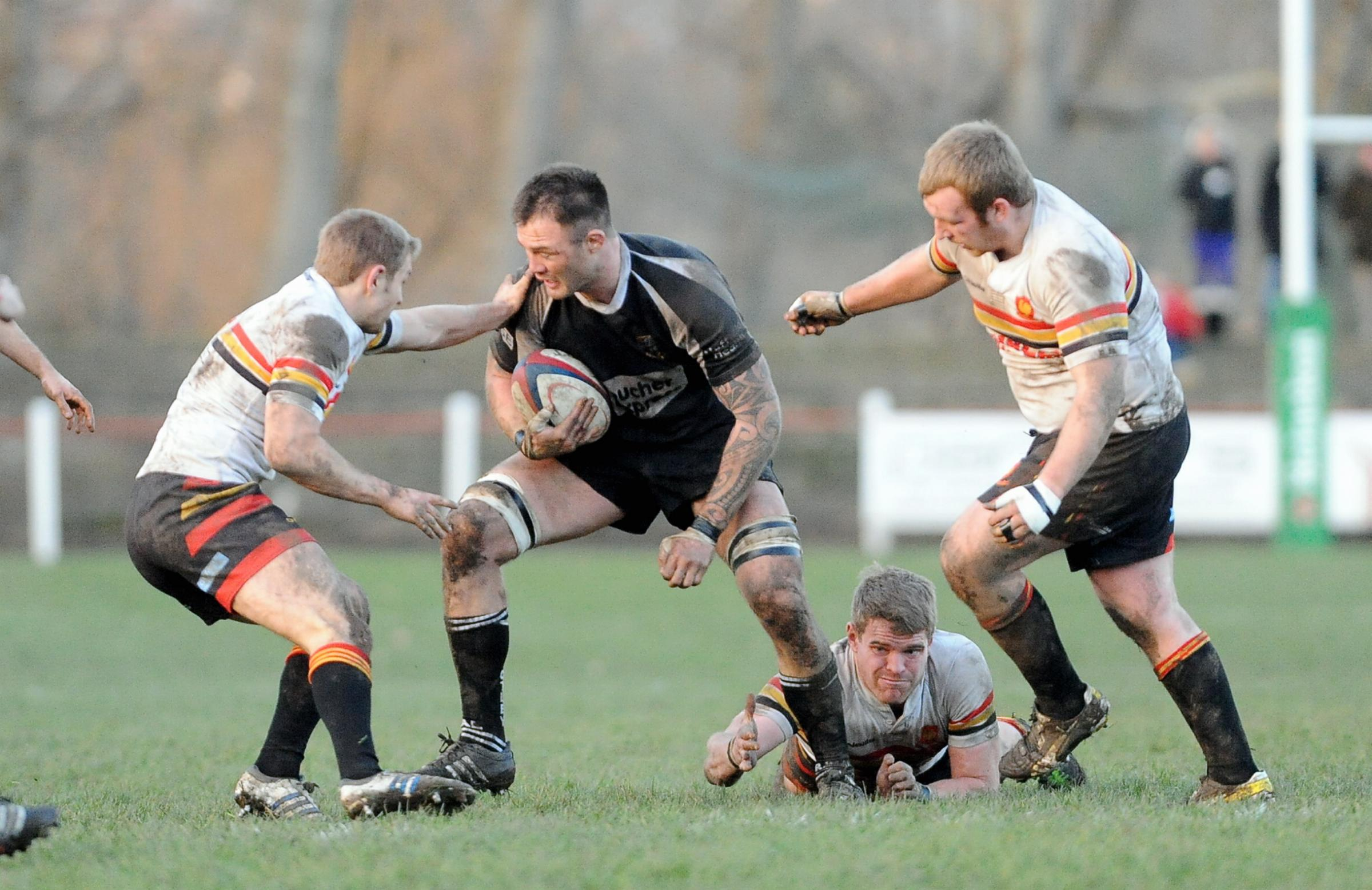 Otley's Simon Willet could be out for the season with a torn bicep