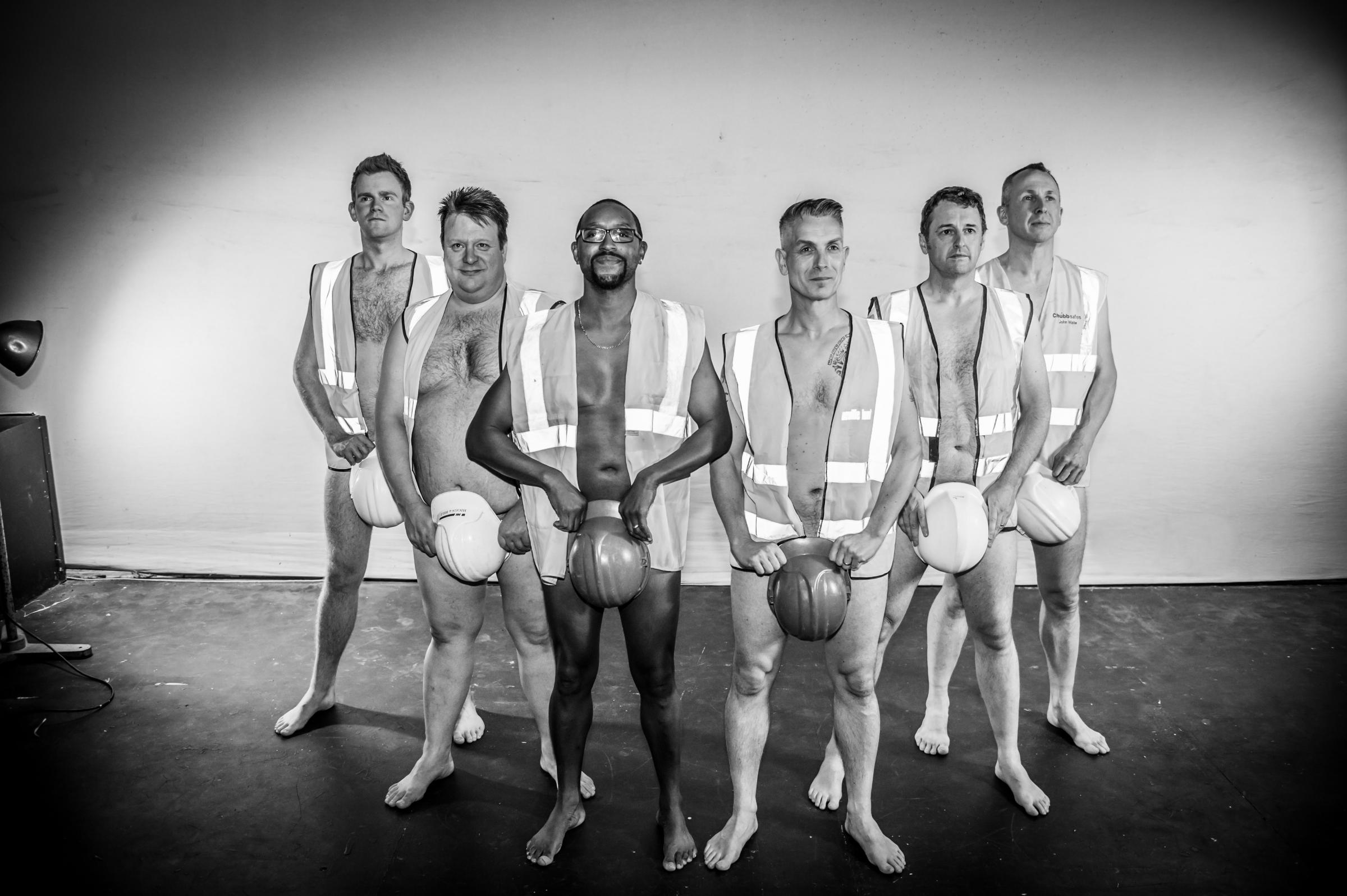 Guiseley Amateurs are baring all - on stage and for charity