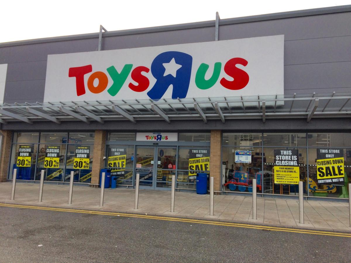 Toys R Us In Manningham Retail Park Bradford Is Leaving The City