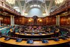 Bradford Council chamber. Picture: Paul Richards / T&A Camera Club
