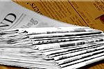 Bradford Telegraph and Argus: Newspaper Delivery Stack