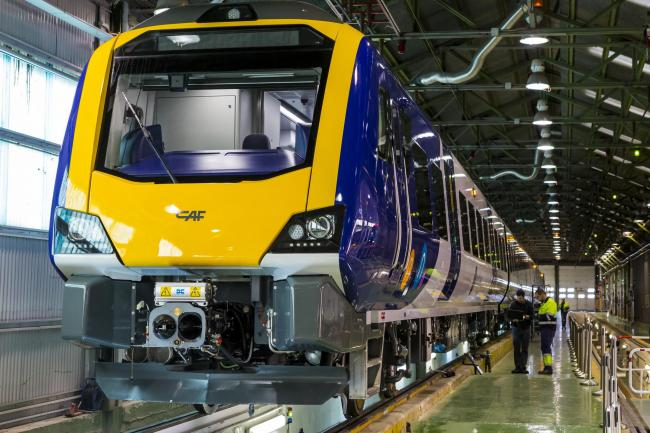 The new Northern Class 331 trains in production