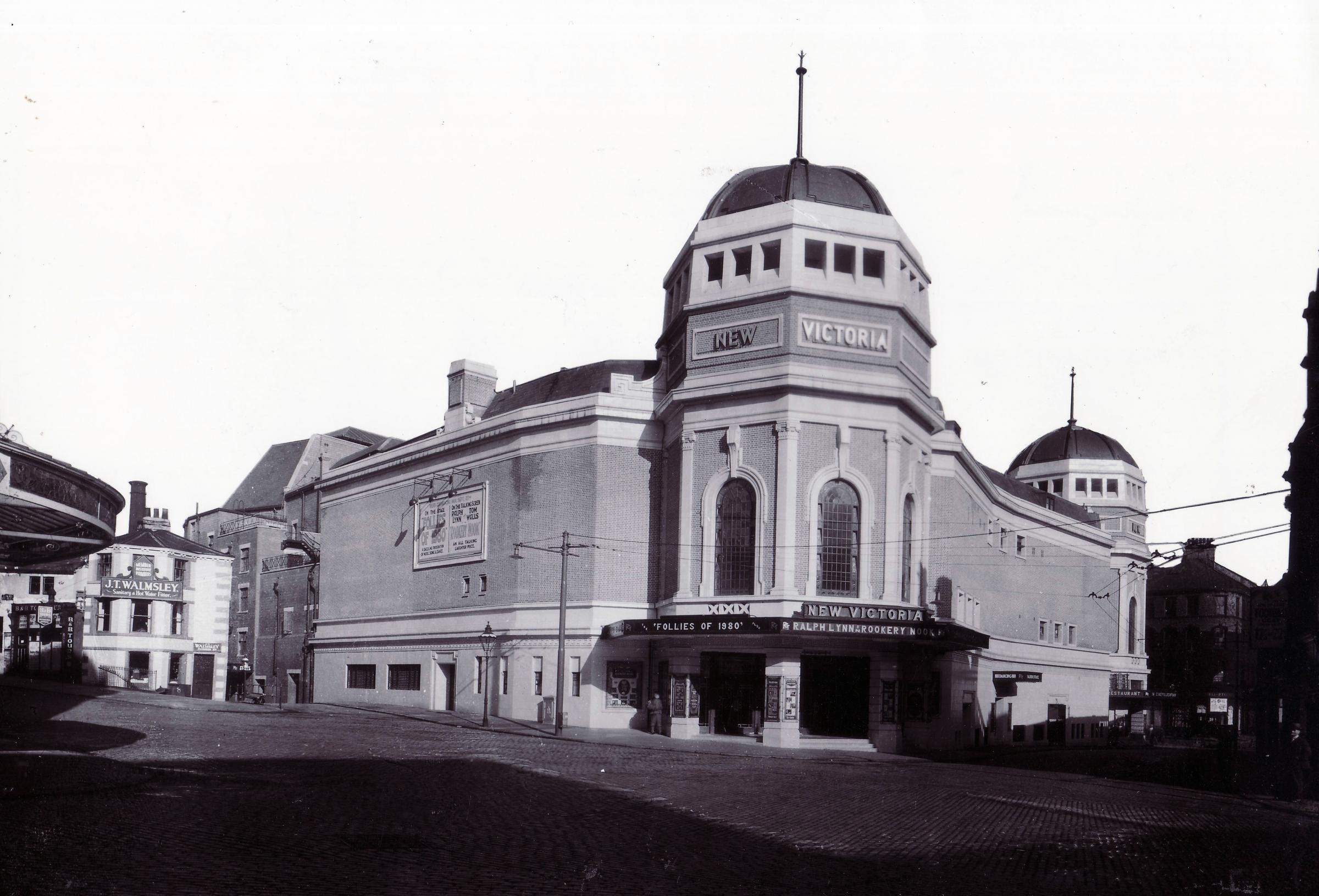 The New Victoria Cinema in 1930. Picture: Leslie Overend