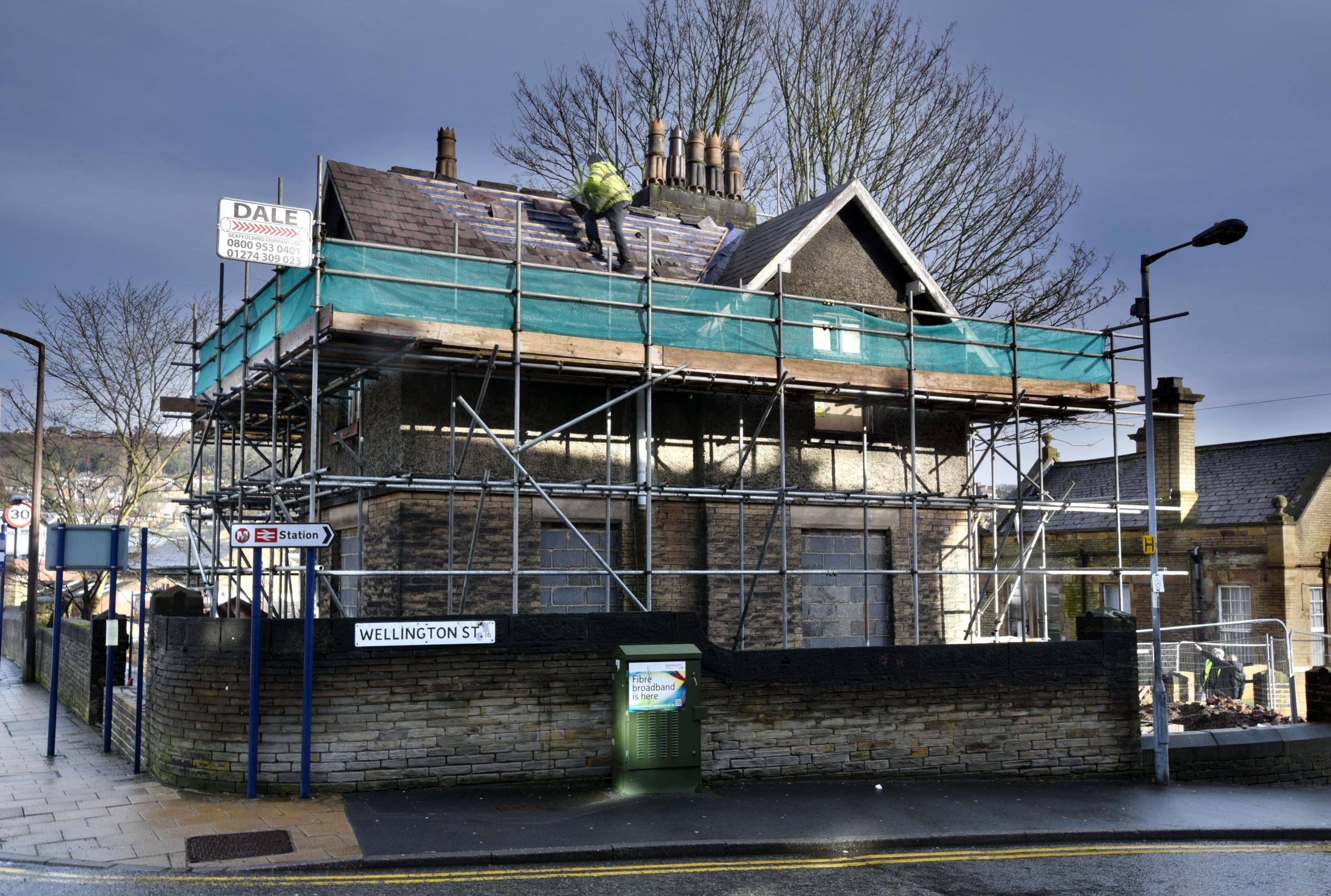 APPROVED: Fish restaurant plans for the Station Master's house in Bingley have now been given the go ahead