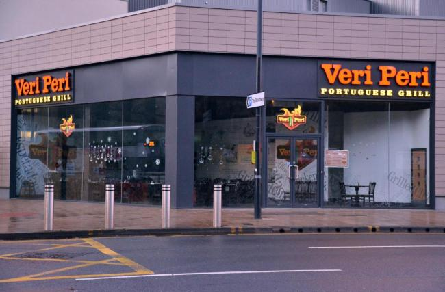 Closure of Veri Peri restaurant confirmed by shopping centre