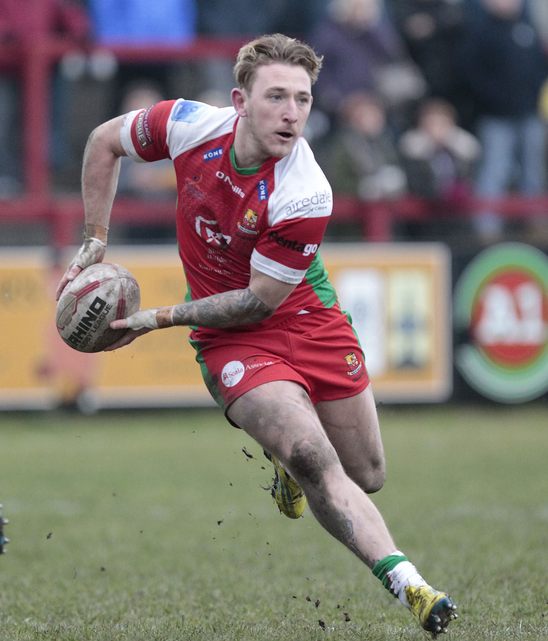Ryan Wright and Josh Tonks have both departed Keighley for Hunslet as Cougars' player exodus continues. Picture: Charlie Perry