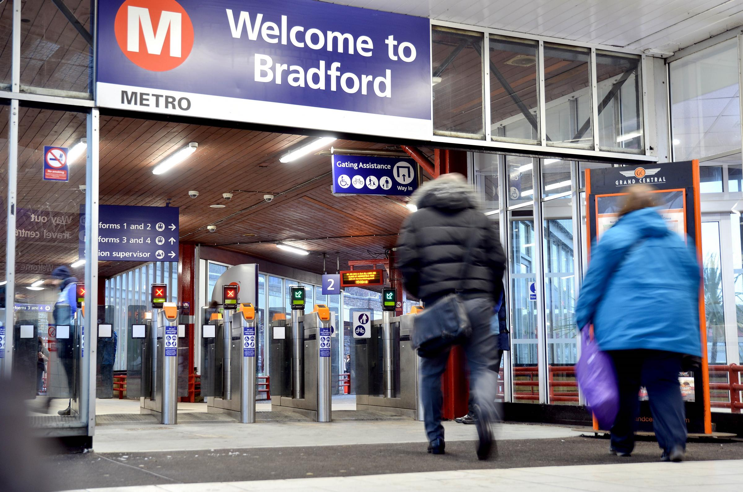 Bradford Interchange Station.